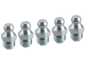Grease Nipple Straight M8 x 1.0 (Pack 5)